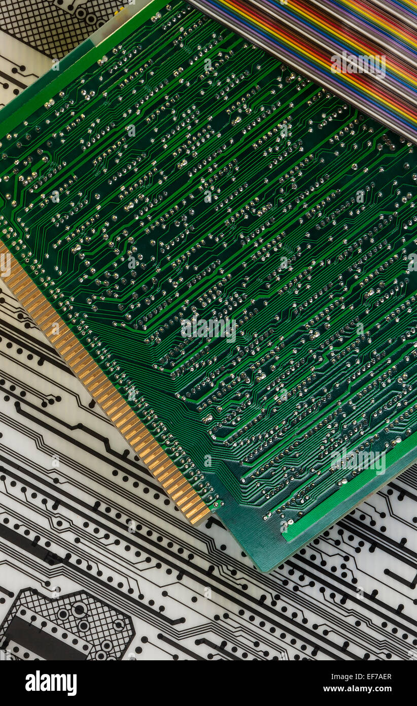 Electronics - Printed Circuit Boards - Stock Image