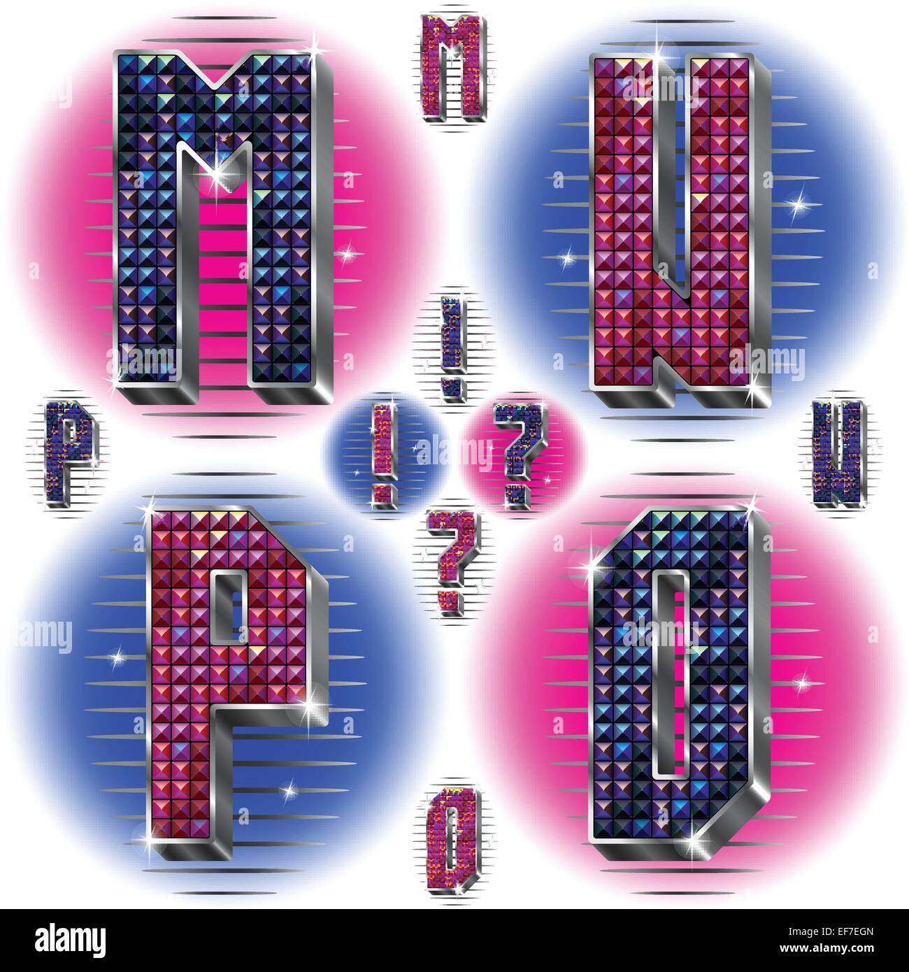 M Typography Font Letter Type Stock Vector Images - Alamy