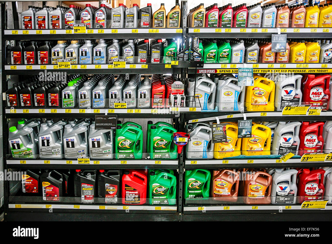 Auto Parts Shop >> A Wide Range Of Oil Products For Sale In An Auto Parts Shop