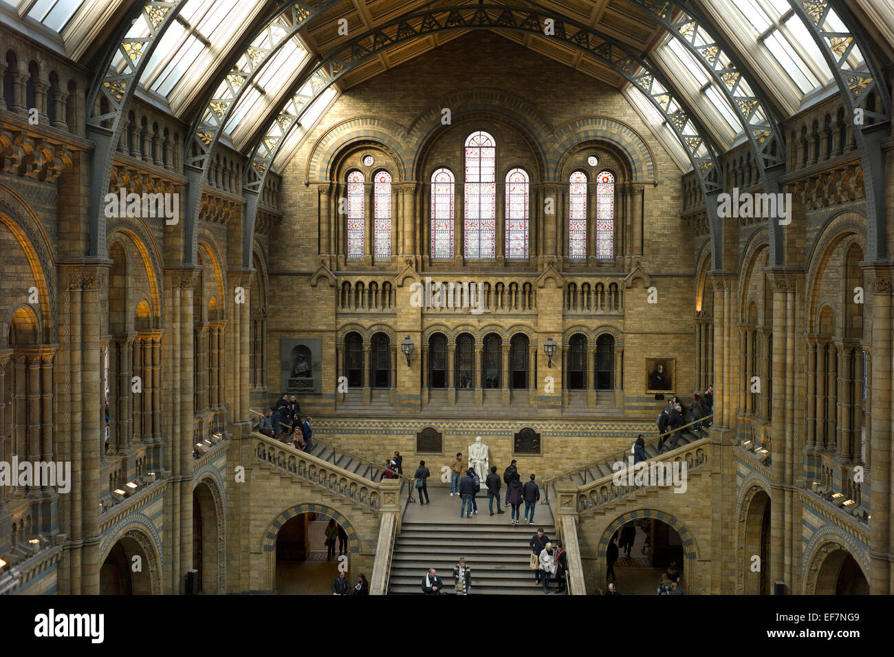Natural History Museum, London, England,UK. January 2015 - Stock Image