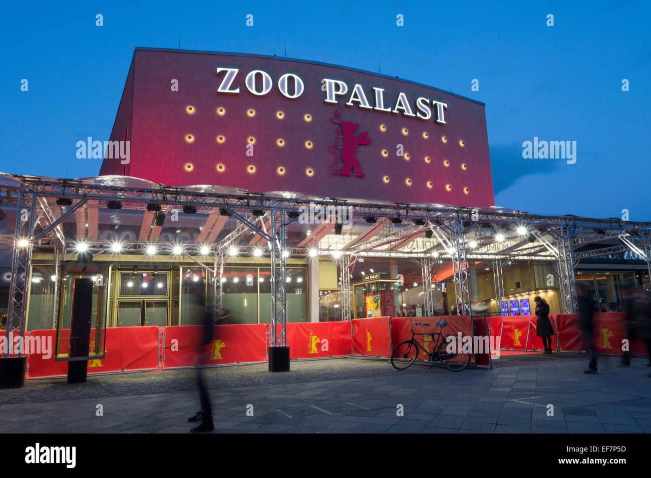Zoo Palast, Berlinale, Berlin, Germany Stock Photo
