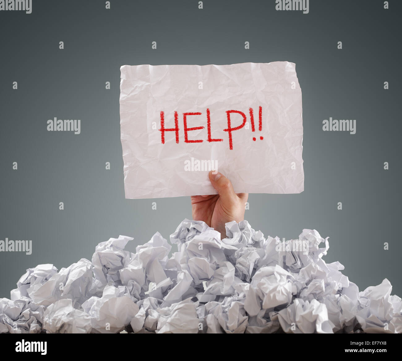 Help - Stock Image