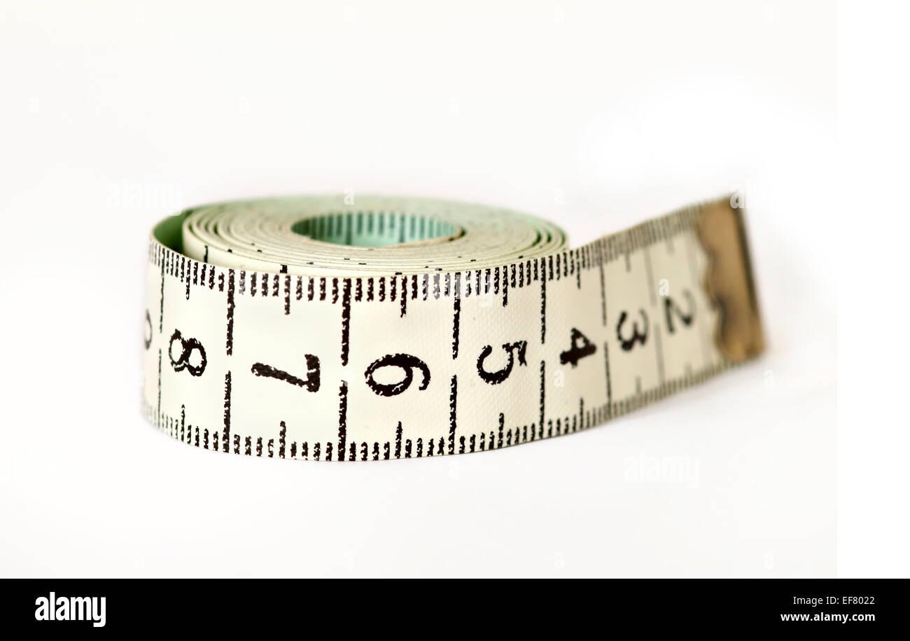 tape measure - measuring tape - Stock Image