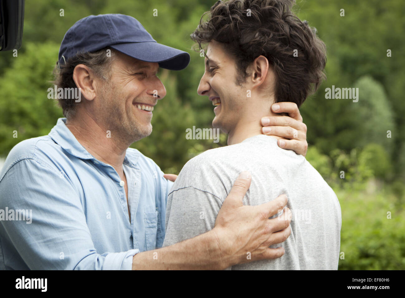 CHARLES BERLING & PIERRE NINEY IT BOY; 20 ANS D'ECART (2013) - Stock Image