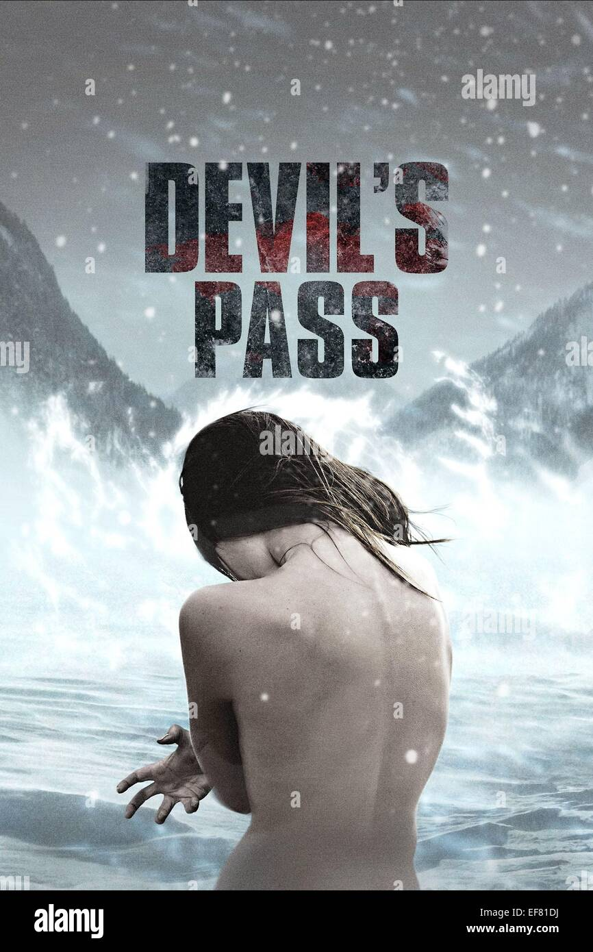 MOVIE POSTER THE DYATLOV PASS INCIDENT (2013) - Stock Image