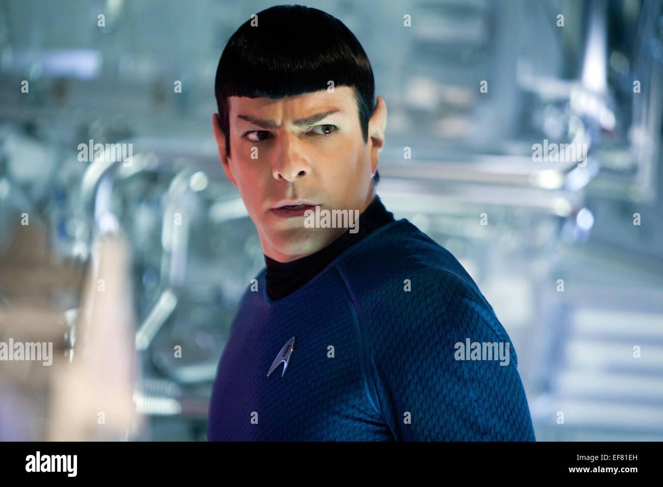 ZACHARY QUINTO STAR TREK INTO DARKNESS (2013) - Stock Image