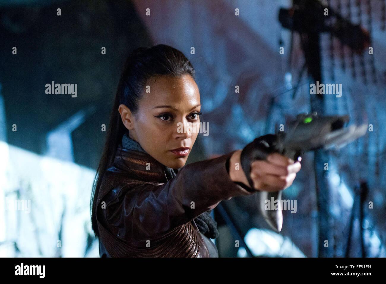 Zoe Saldana Star Trek Into Darkness 2013 Stock Photo Alamy