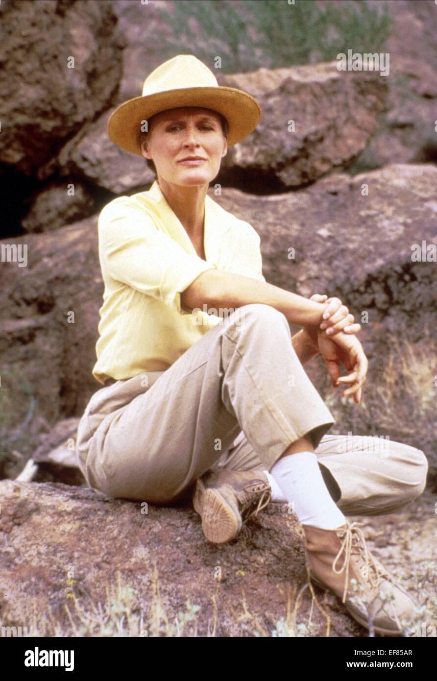GLENN CLOSE THE STONES OF IBARRA (1988) - Stock Image