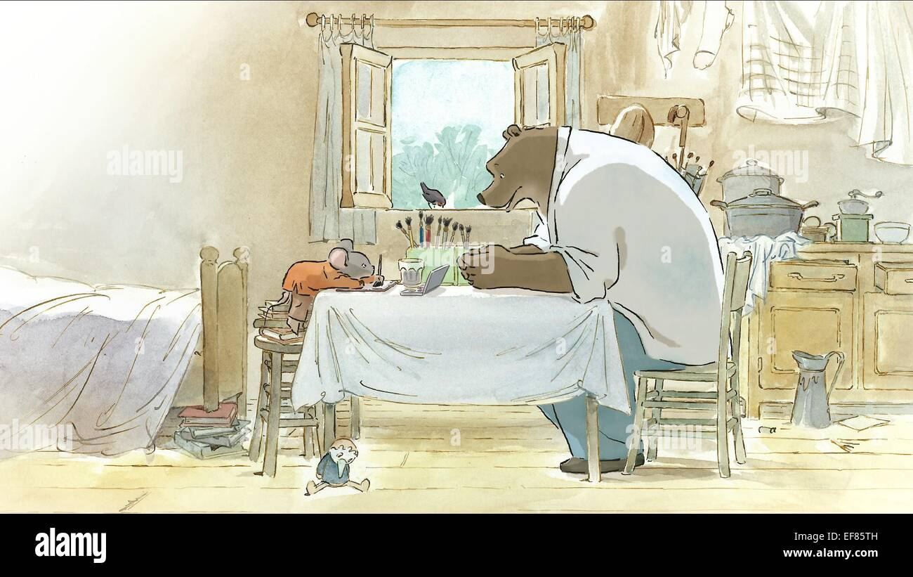 Ernest Celestine Ernest And Celestine 2012 Stock Photo Alamy