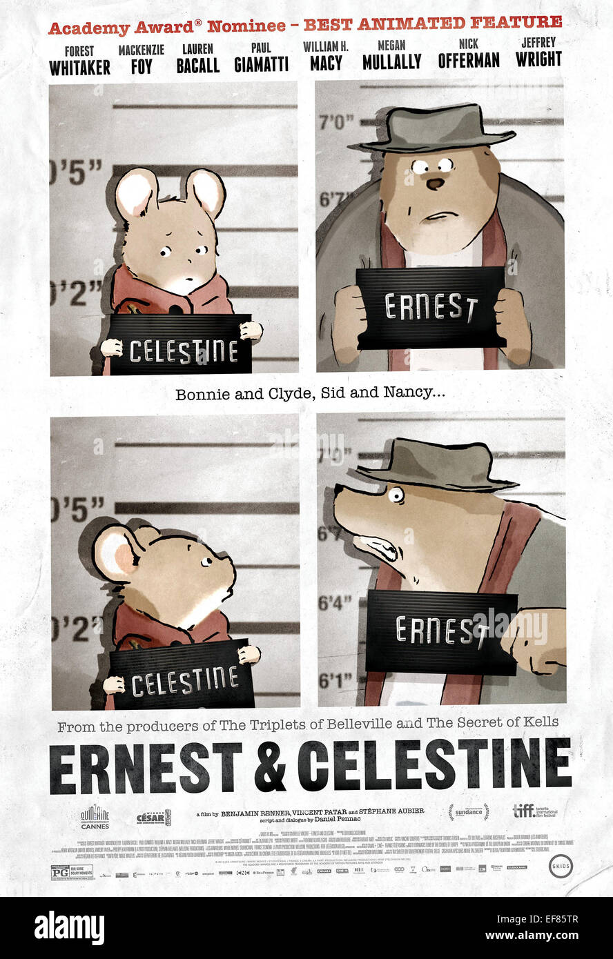 Movie Poster Ernest Celestine 2012 Stock Photo Alamy