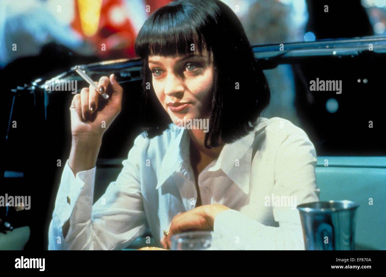 Uma Thurman Pulp Fiction 1994 Stock Photo Alamy