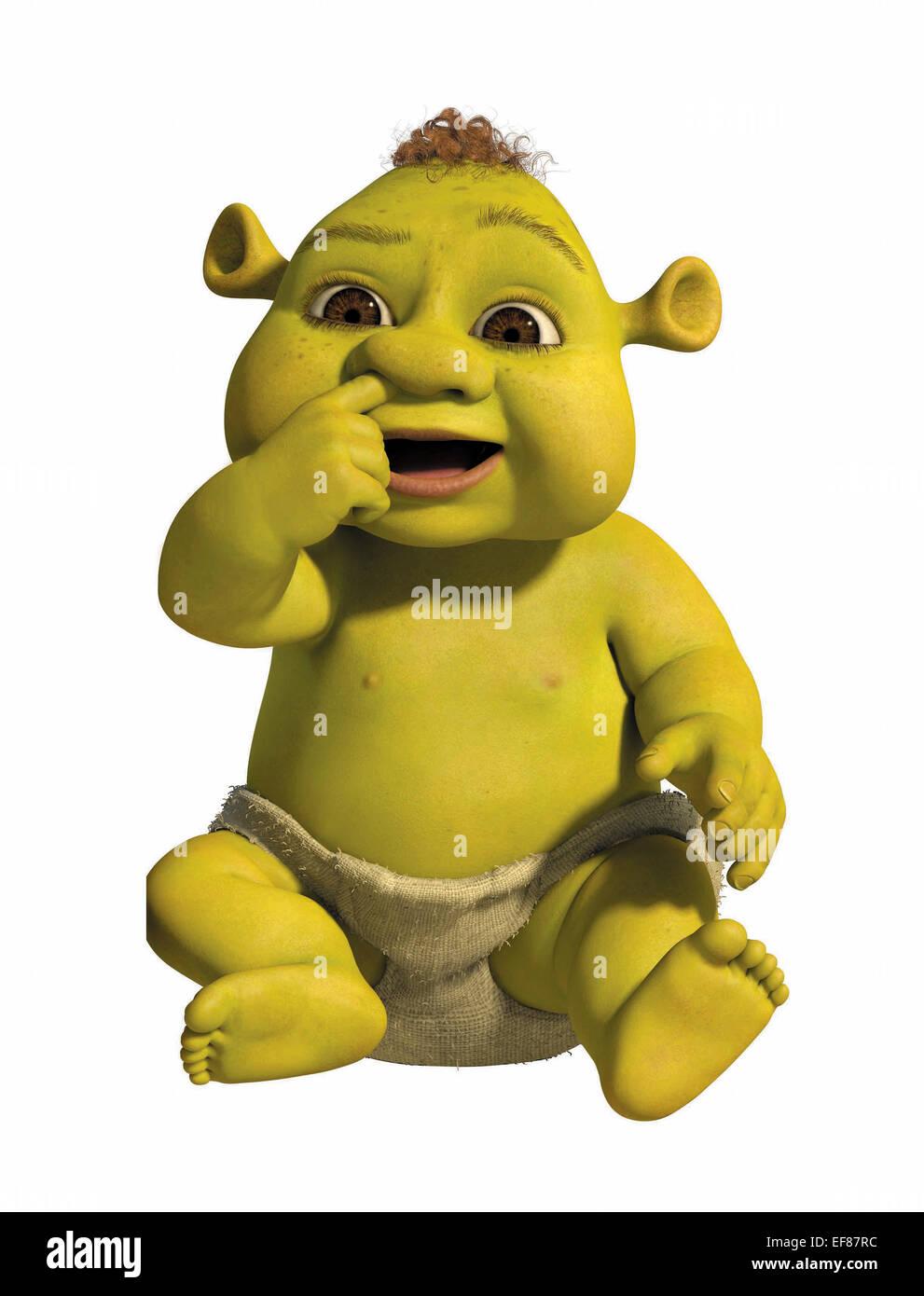 Ogre Baby Shrek The Third Shrek 3 2007 Stock Photo