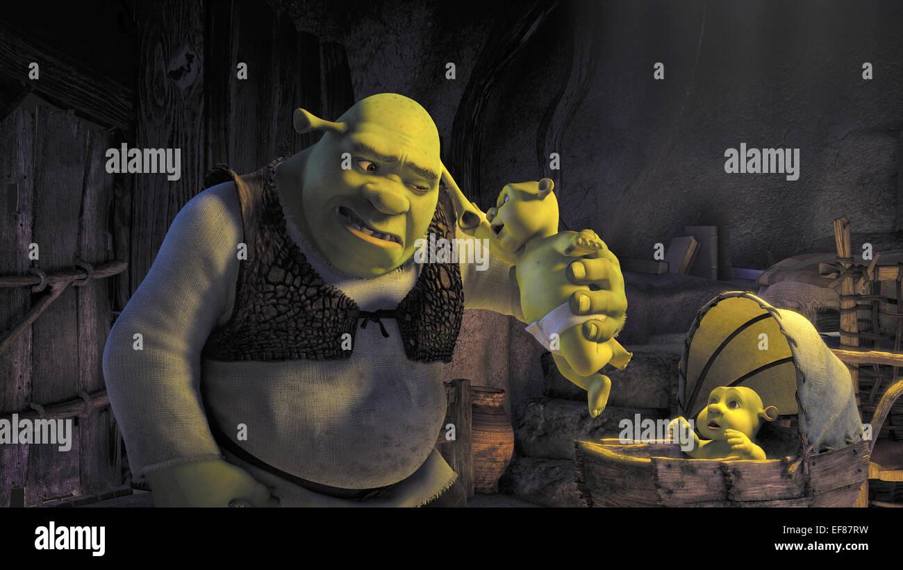 Shrek Baby Shrek The Third 2007 Stock Photo Alamy