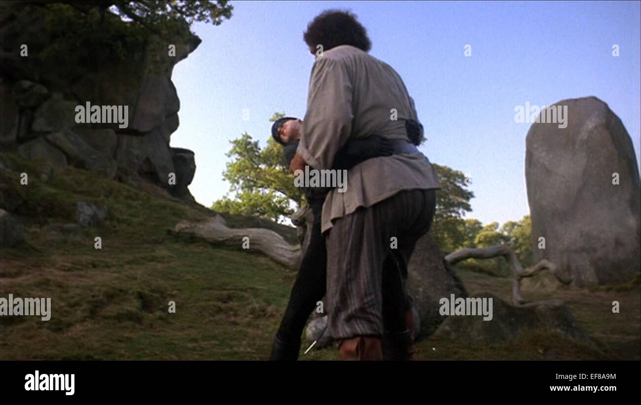 CARY ELWES, ANDRE THE GIANT, THE PRINCESS BRIDE, 1987 Stock Photo