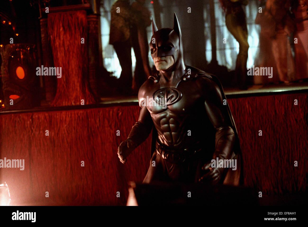George Clooney Batman Robin 1997 Stock Photo Alamy
