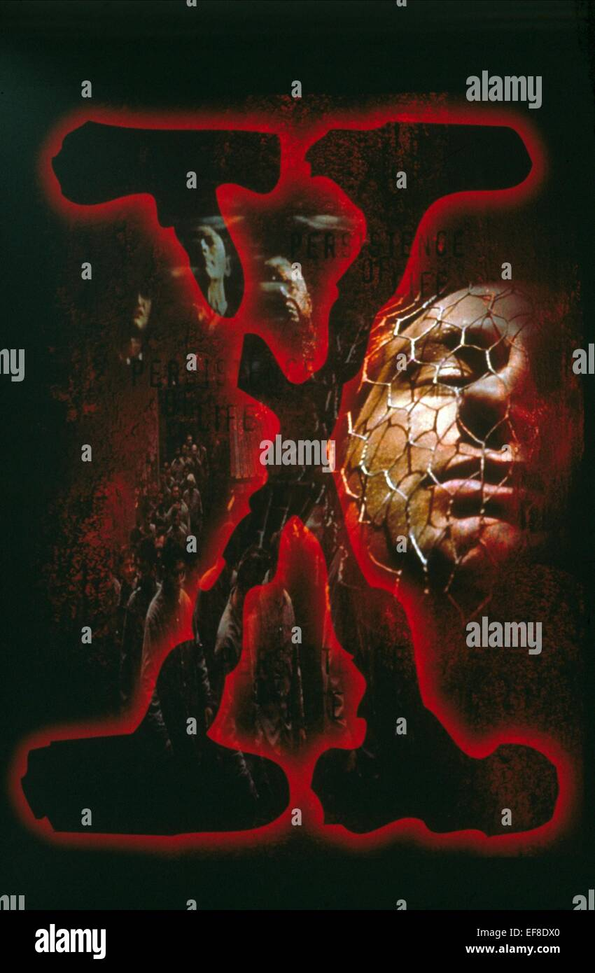 TELEVISION ARTWORK THE X-FILES (1993) - Stock Image