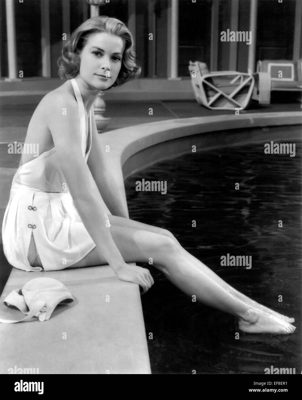 GRACE KELLY HIGH SOCIETY (1956) - Stock Image