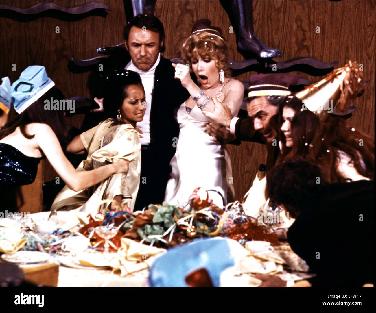 The Poseidon Adventure Gene Hackman Stock Photos The