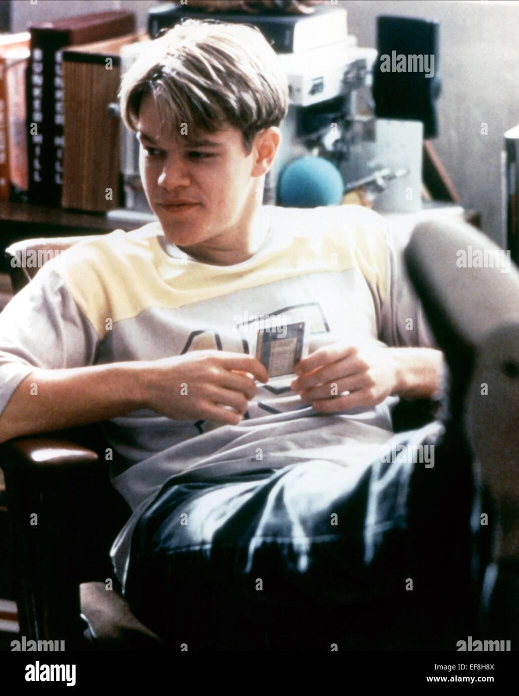 Matt Damon Good Will Hunting 1997 Stock Photo Alamy