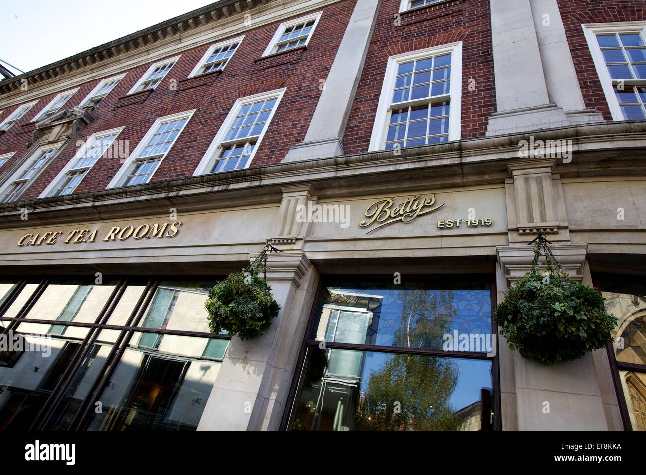Betty's tea rooms in York - Stock Image