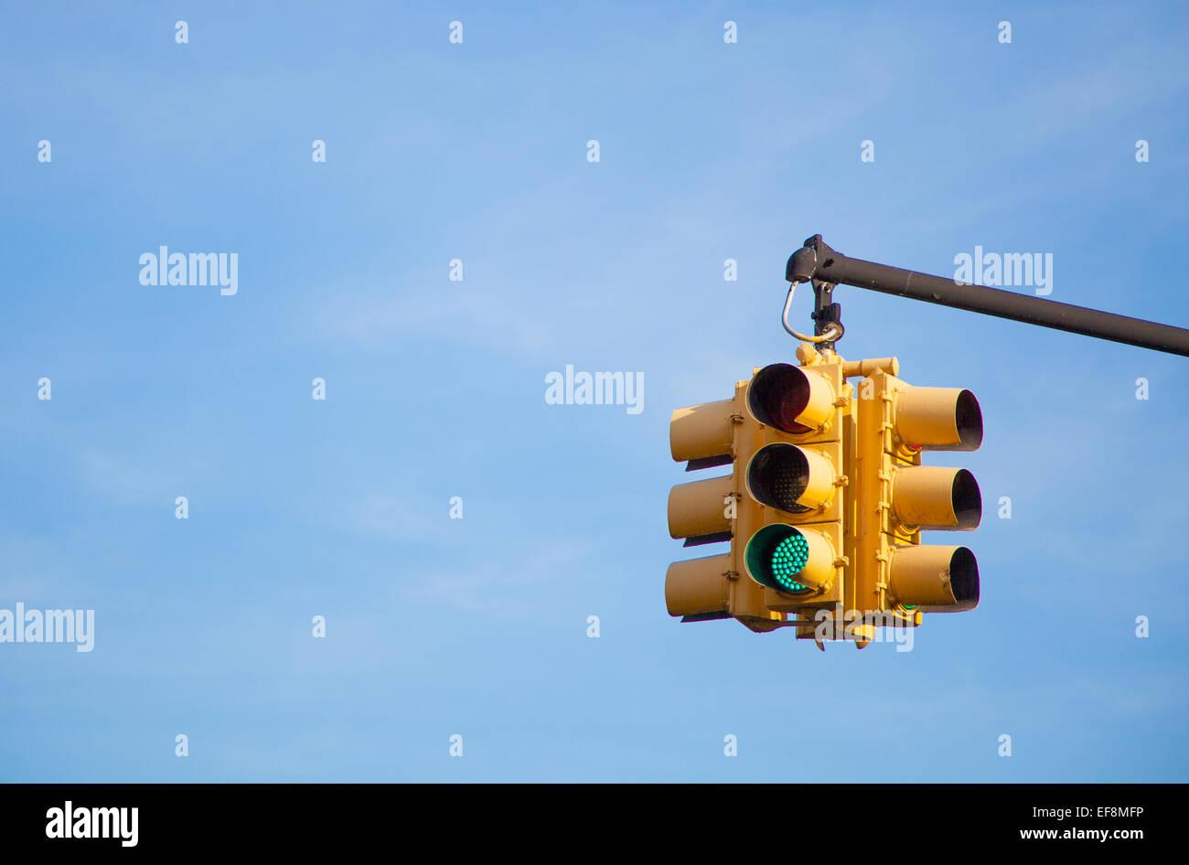 US Traffic lights - Stock Image