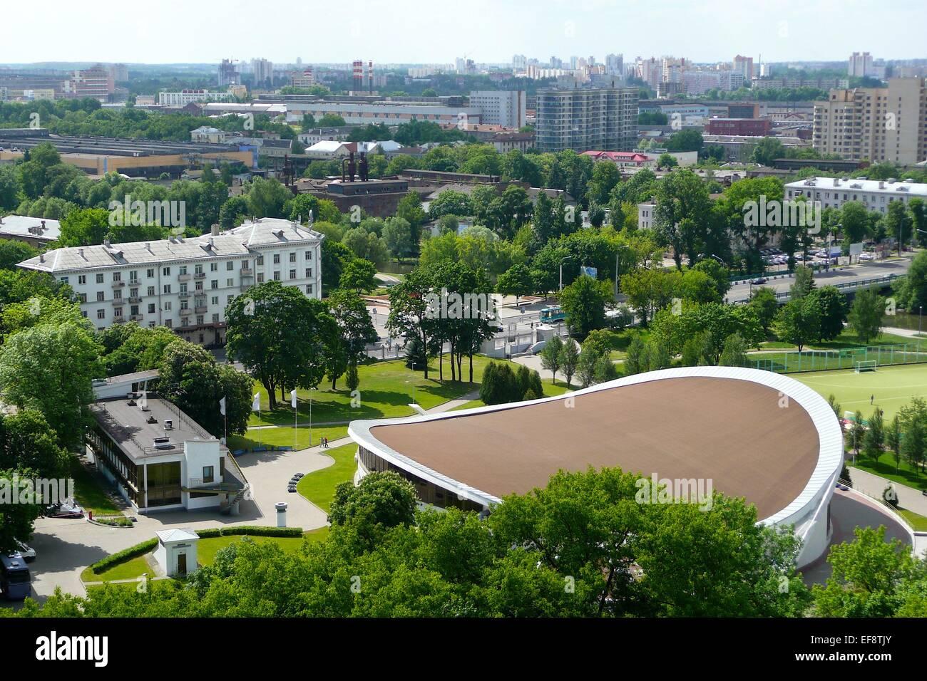 Belarus, Minsk, View of city - Stock Image