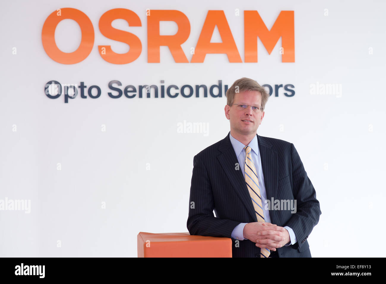 the ceo of semiconductor manufacturer osram opto aldo kamper leans