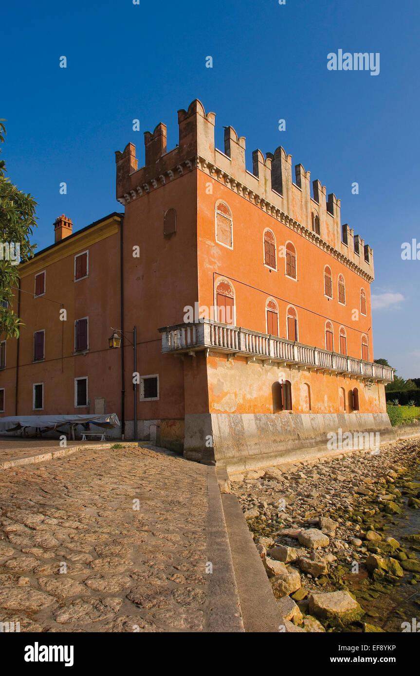 Lazise Bernini Villa - Stock Image