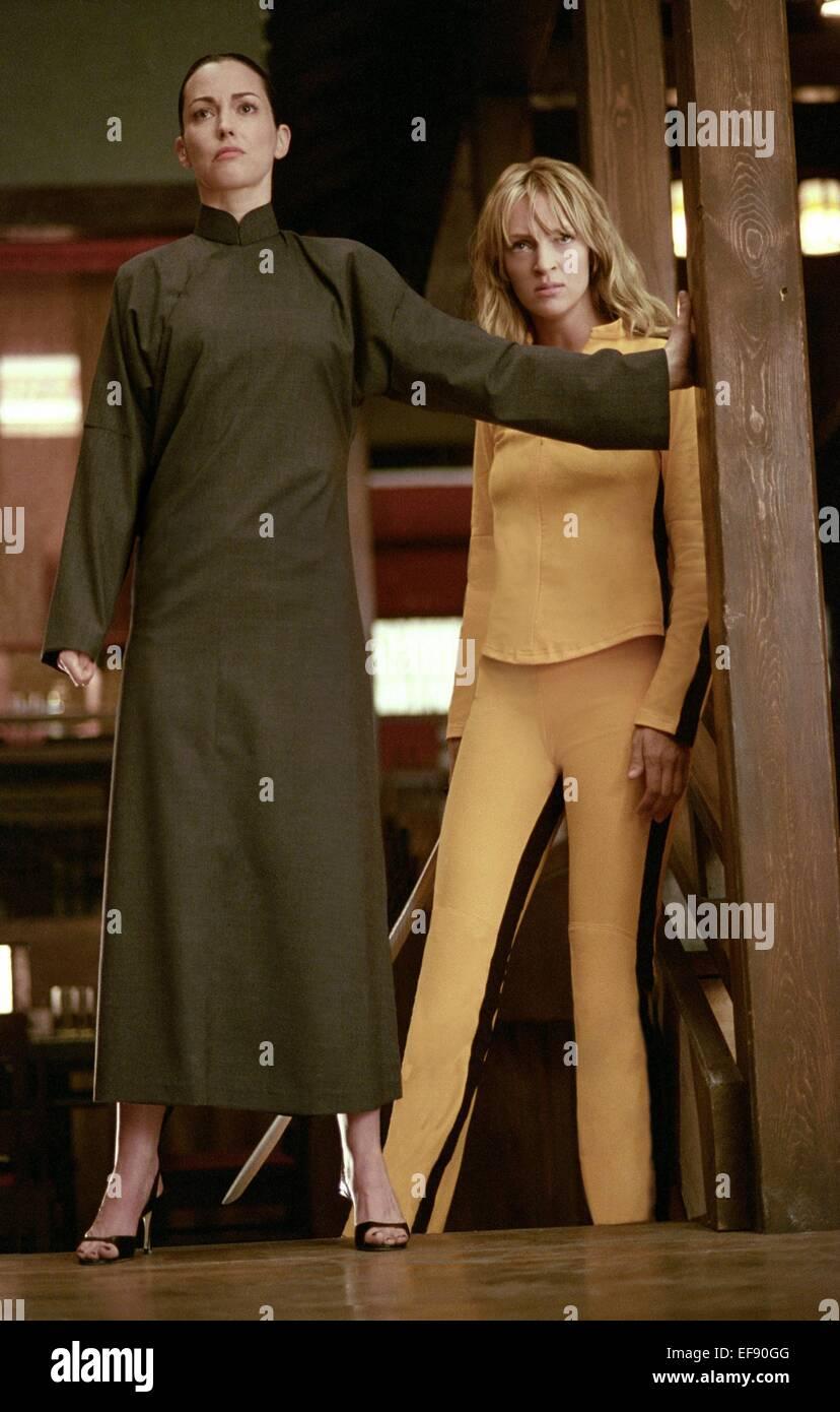 Julie Dreyfus Uma Thurman Kill Bill Vol 1 2003 Stock Photo Alamy