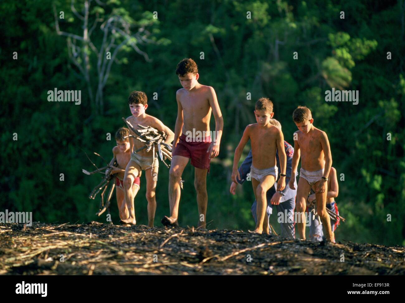 BALTHAZAR GETTY LORD OF THE FLIES (1990) - Stock Image