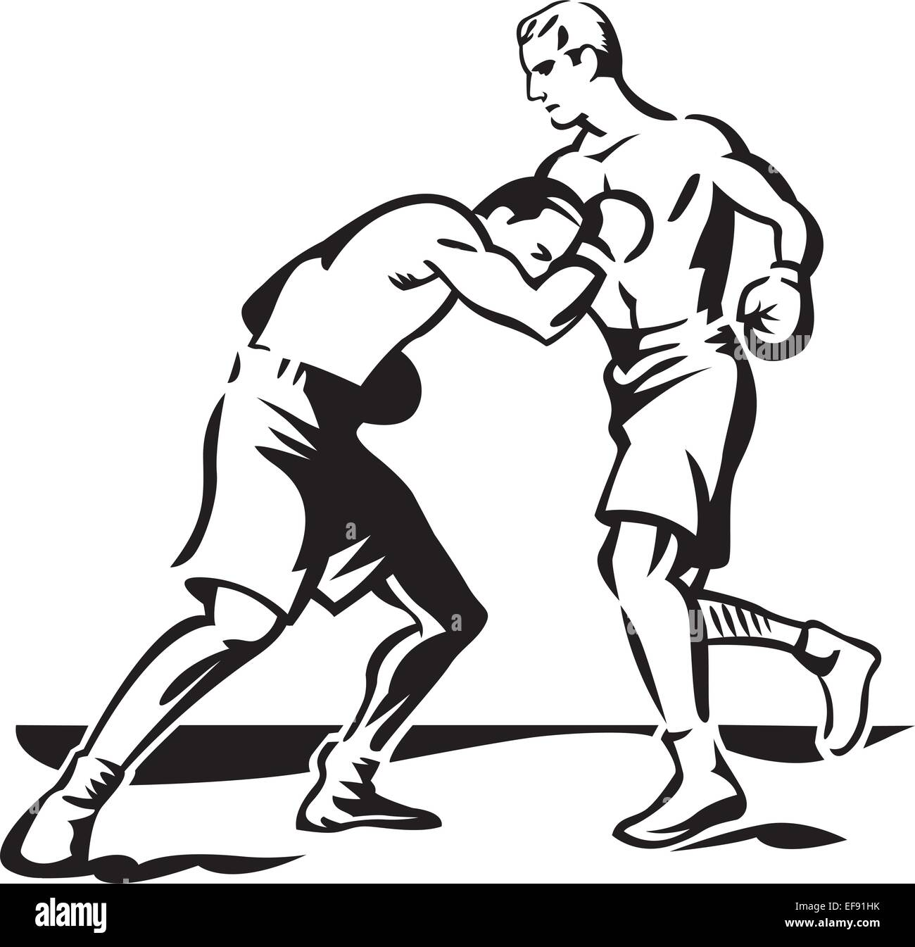 two boxers fighting wiring diagrams \u2022two boxers fighting stock vector art illustration vector image rh alamy com two female boxers fighting