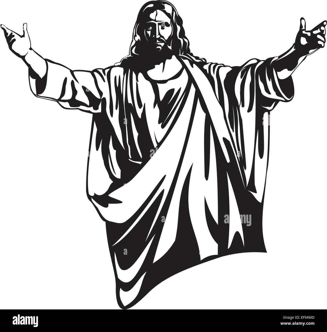 Jesus Christ - Stock Vector