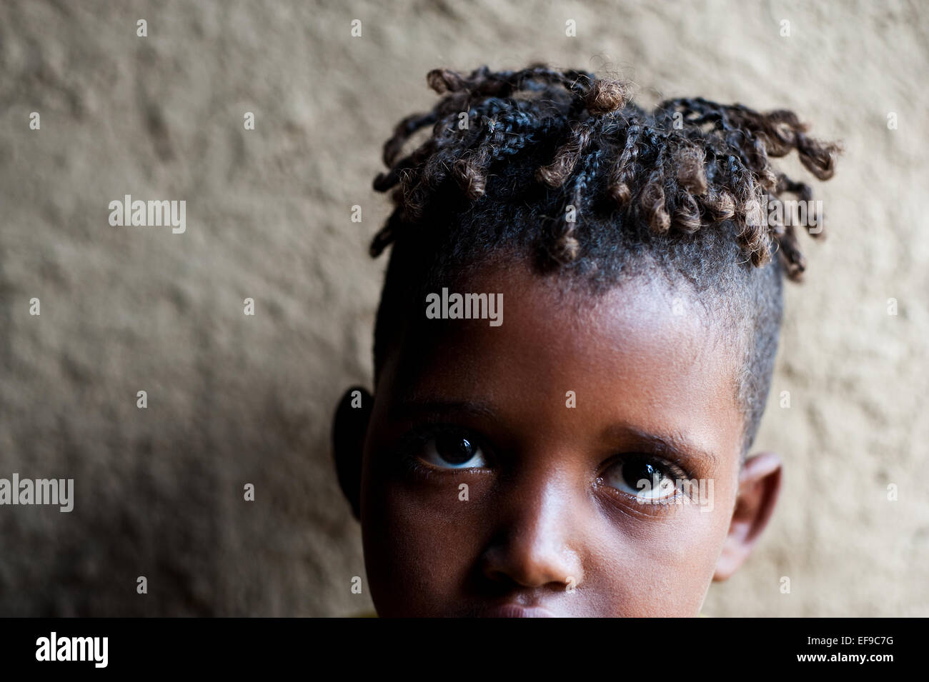 Boy belonging to the Kereyu tribe ( Ethiopia) - Stock Image