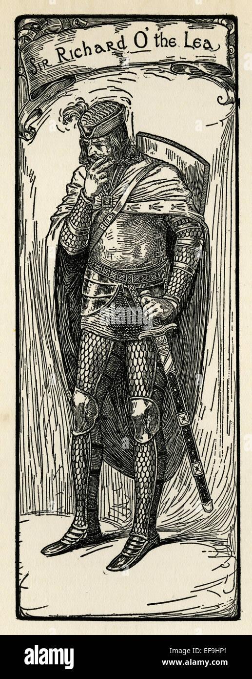 Sir Richard O' the Lea - Stock Image