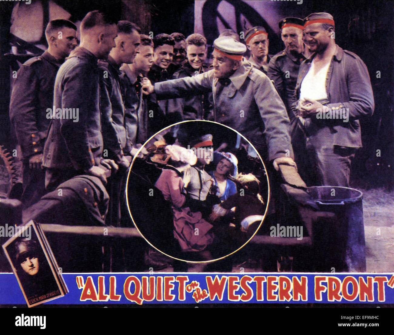 LOUIS WOLHEIM ALL QUIET ON THE WESTERN FRONT (1930) - Stock Image