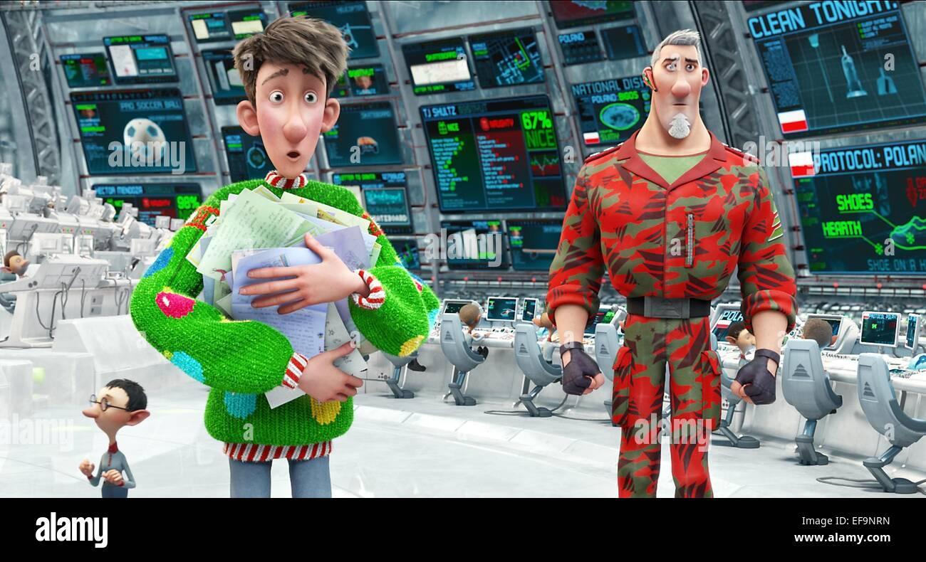 ARTHUR & STEVE ARTHUR CHRISTMAS (2011 Stock Photo: 78276009 - Alamy