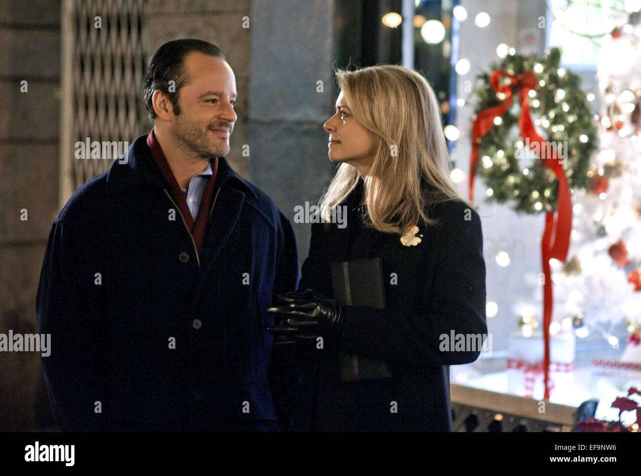 Trading Christmas.Gil Bellows Faith Ford Trading Christmas 2011 Stock Photo