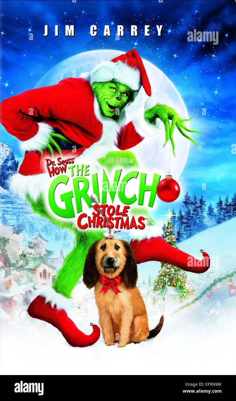 Film Poster Grinch Stole Christmas Stock Photos & Film Poster Grinch ...