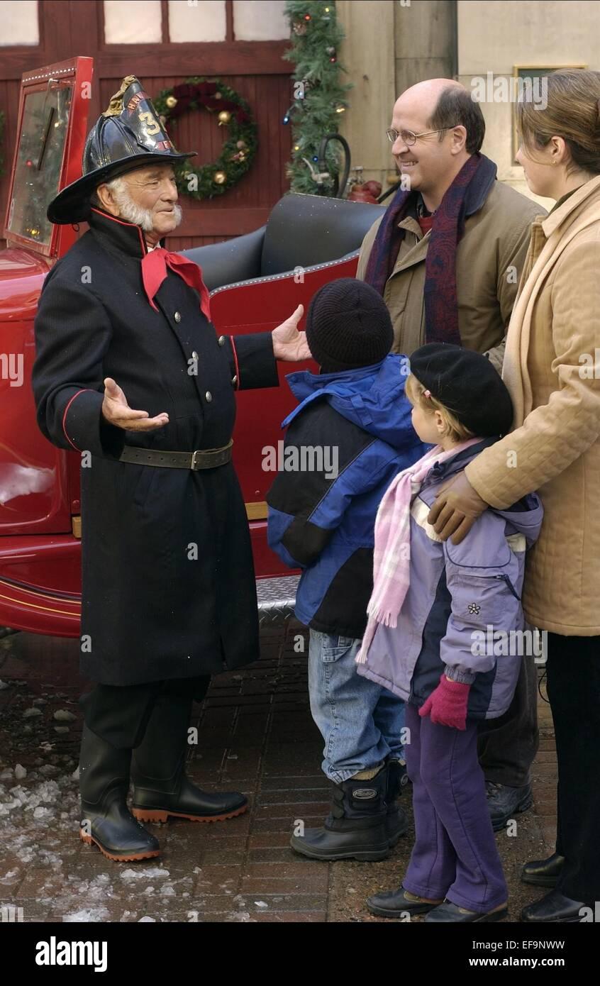 Finding John Christmas.Peter Falk Finding John Christmas 2003 Stock Photo