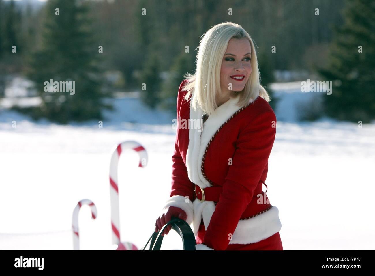 jenny mccarthy santa baby 2 christmas maybe 2009 stock image - Santa Baby 2 Christmas Maybe