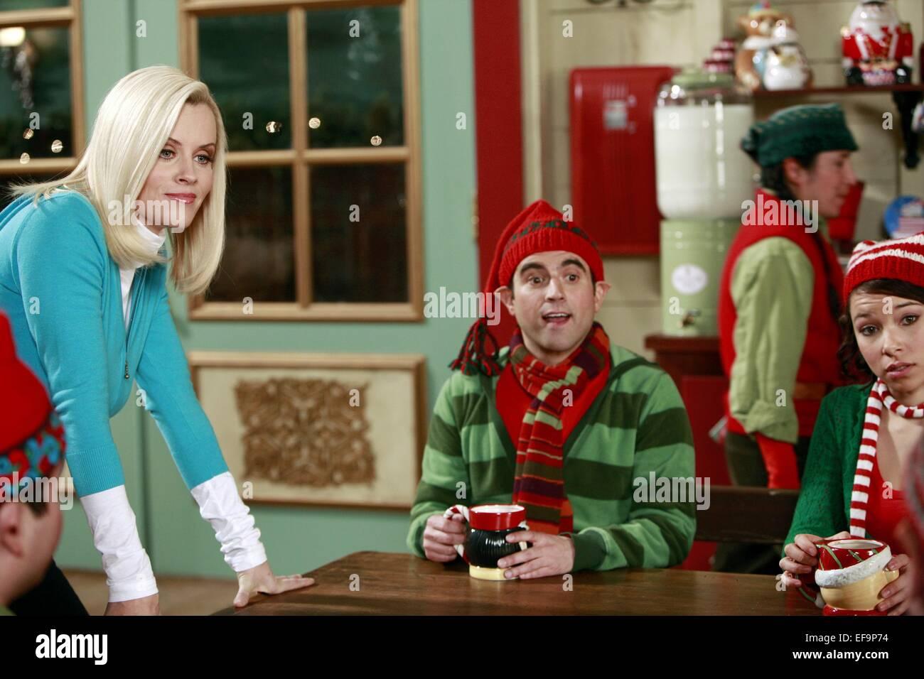 jenny mccarthy gabe khouth santa baby 2 christmas maybe 2009 stock - Santa Baby 2 Christmas Maybe