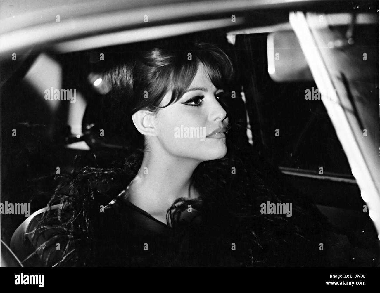 CLAUDIA CARDINALE 8 1/2 EIGHT AND A HALF (1963 Stock Photo ...