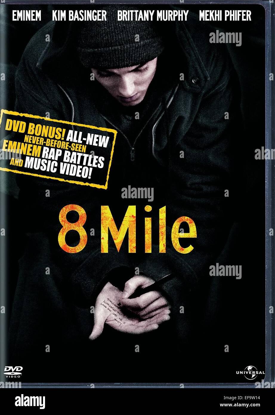 Eminem Poster 8 Mile 2002 Stock Photo Alamy