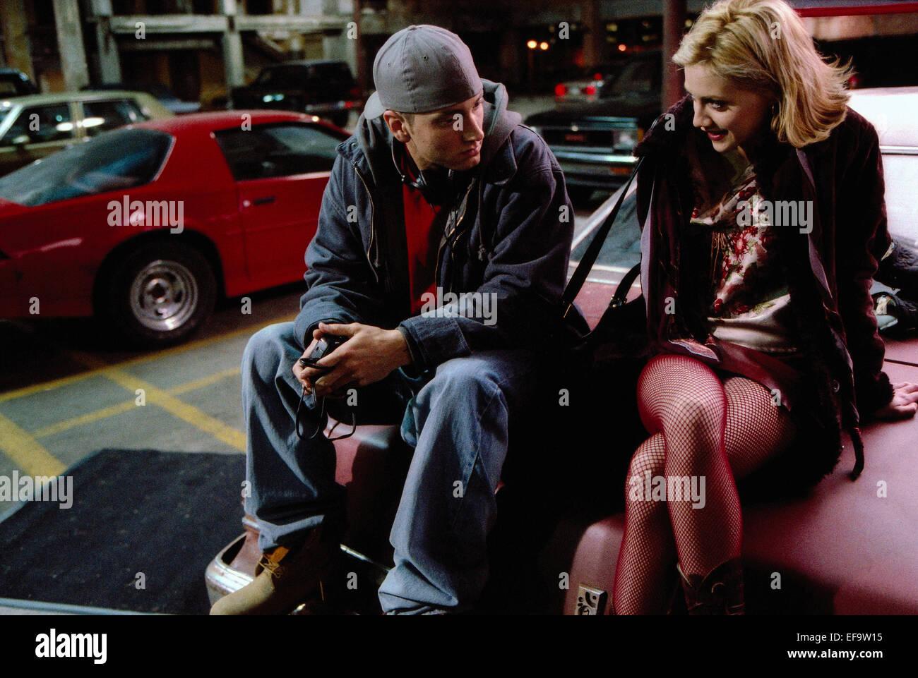 Eminem Brittany Murphy 8 Mile 2002 Stock Photo Alamy