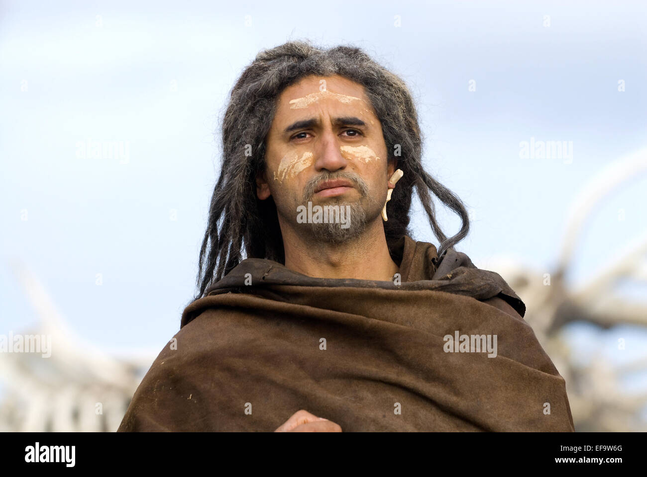 CLIFF CURTIS 10 000 BC (2008) - Stock Image
