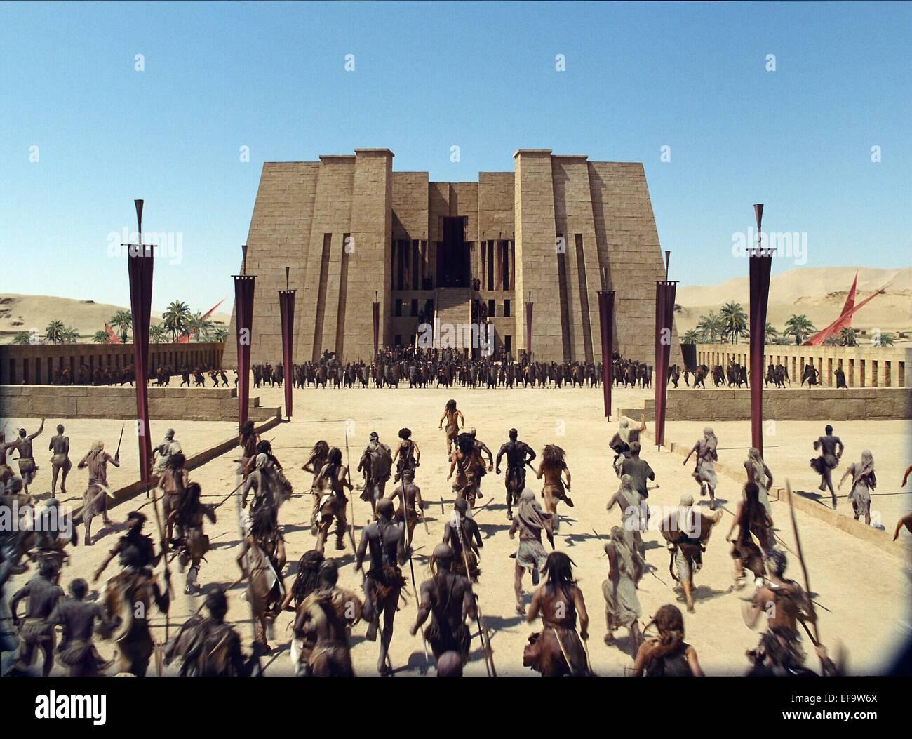 CROWD SCENE 10 000 BC (2008) - Stock Image
