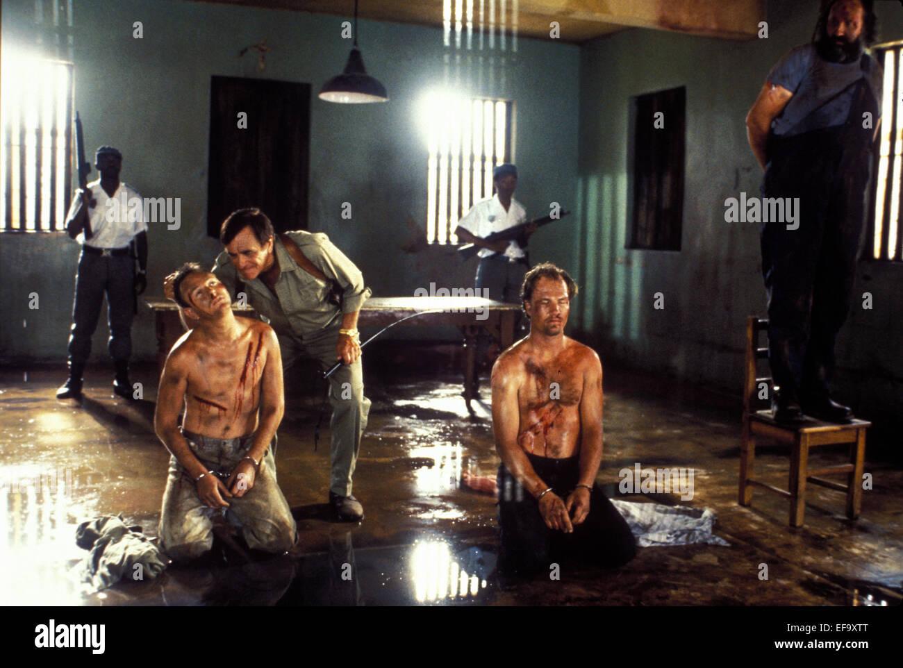 TORTURE SCENE AMERICAN NINJA 4: THE ANNIHILATION (1990) - Stock Image