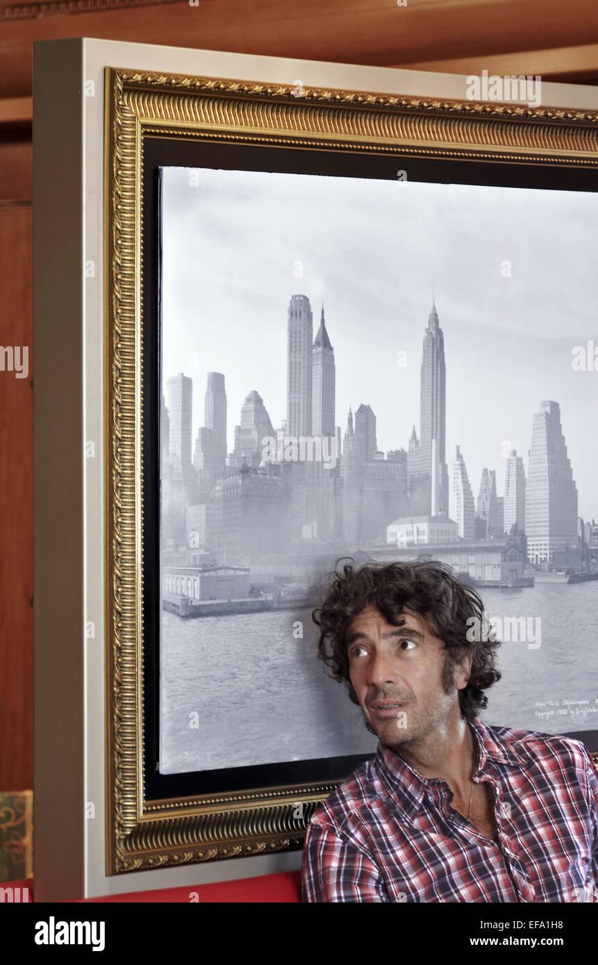 ERIC LAVAINE BIENVENUE A BORD (2011) - Stock Image