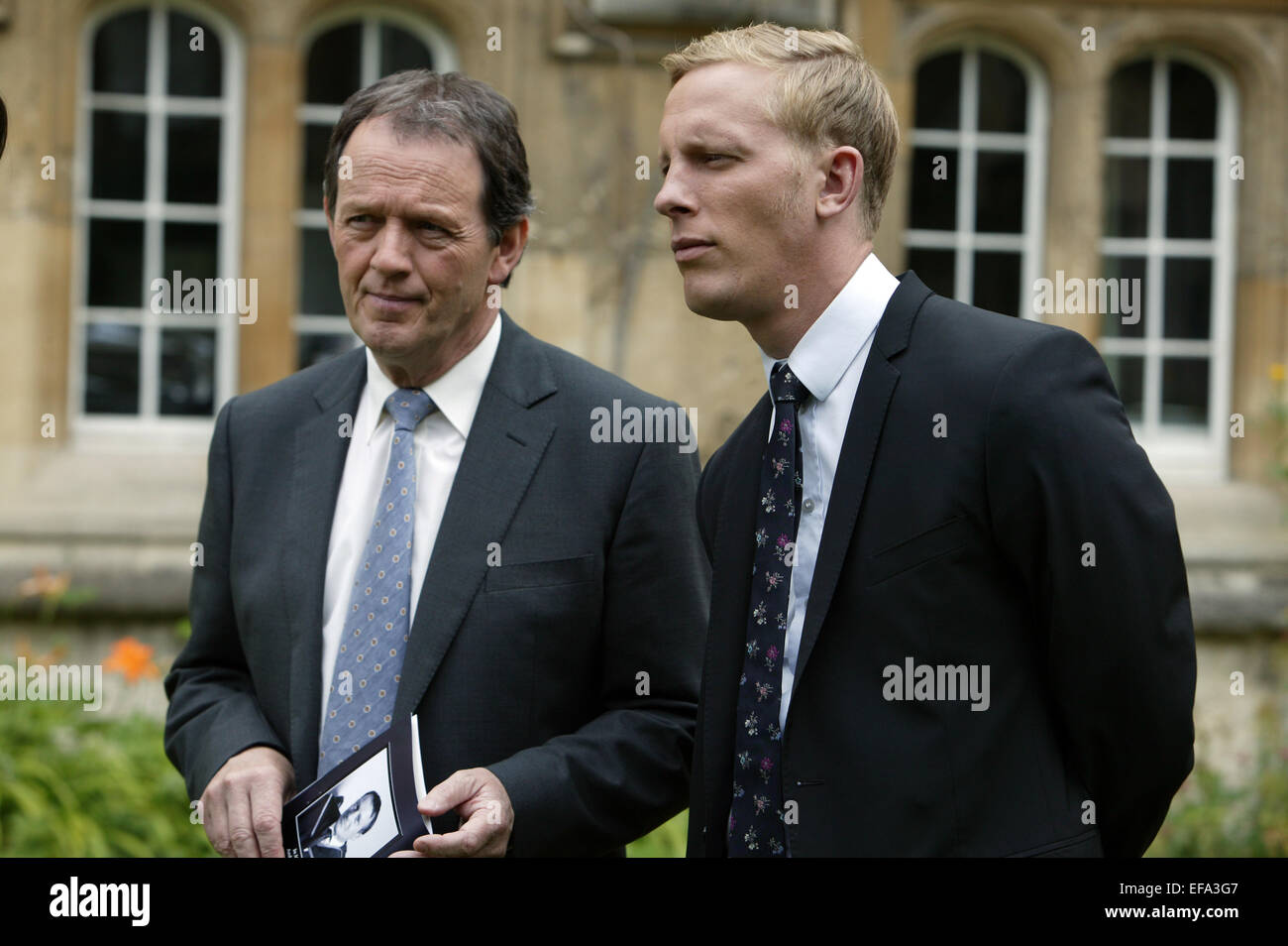 Kevin Whately Laurence Fox Inspector Lewis 2007 Stock Photo