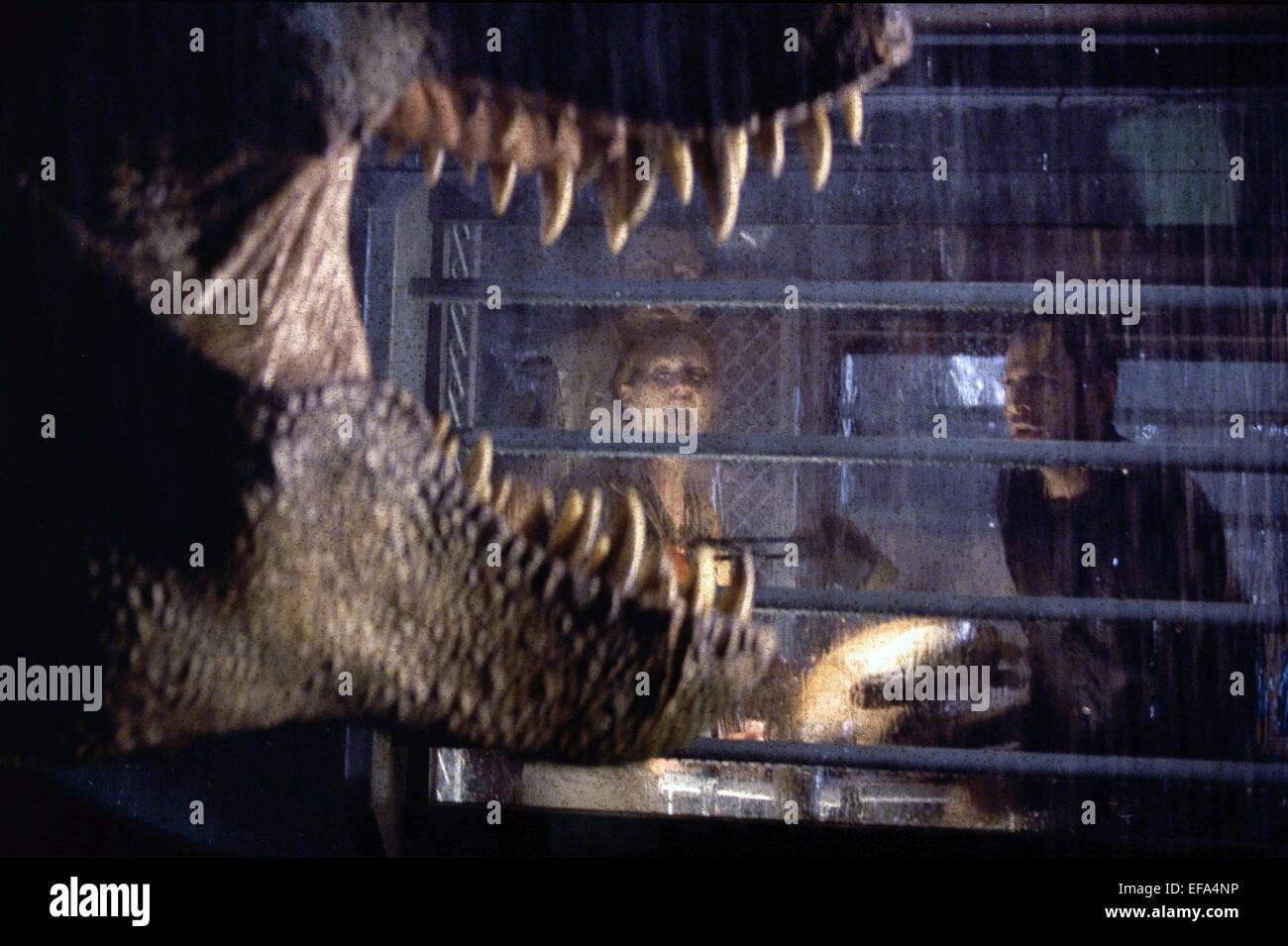 Julianne Moore Jeff Goldblum The Lost World Jurassic Park 1997 Stock Photo Alamy